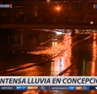 [VIDEO] Temporal deja inundaciones en el centro de Concepción