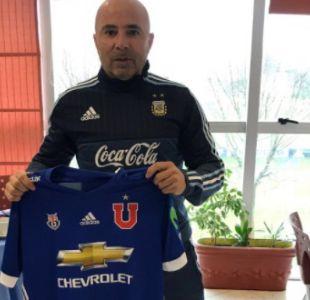 [FOTOS] Técnico Sampaoli da su apoyo a la U para el Superclásico desde Argentina