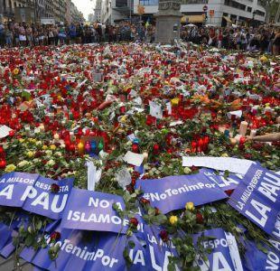 La Rambla tras los homenajes a las víctimas