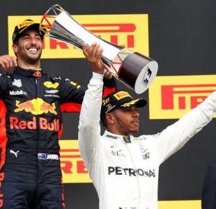 Fórmula Uno: Hamilton junto a la escudería Mercedes conquistó el Gran Premio de Bélgica