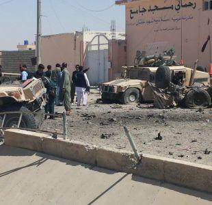 Ataque suicida en Helmand, Afganistán