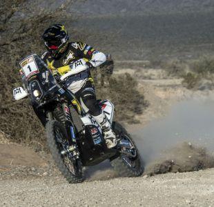 Pablo Quintanilla sobrevive a rudo primer día del Rally Ruta 40 en Argentina
