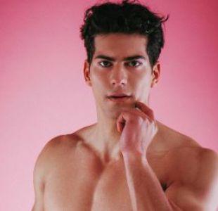 Ignacio Lastra es el modelo que tuvo un grave accidente en Providencia