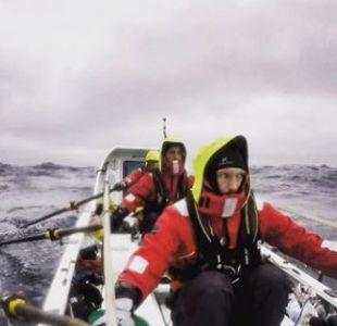 Así quedaron las manos de un campeón olímpico de remo tras expedición por el Ártico