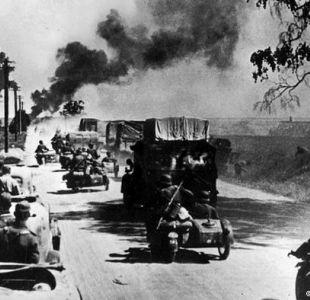 Polonia bajo bombardeos alemanes