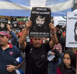Protestas e indignación en Argentina a un mes de la misteriosa desaparición de Santiago Maldonado