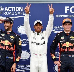 Fórmula Uno: Hamilton establece récord al ganar la pole 69 de su carrera en el GP de Italia