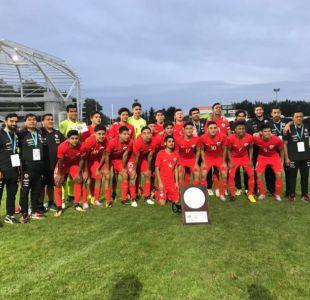[FOTOS] La selección chilena Sub 17 se titula campeón del cuadrangular de Limoges en Francia
