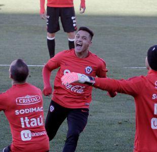 [FOTOS] Así fue la práctica de domingo de La Roja preparándose para enfrentar a Bolivia