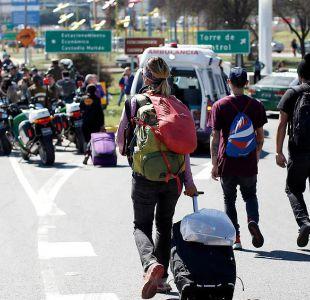 Multigremial de taxistas se desliga de muerte de turista y culpa al gobierno