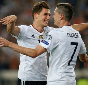 Alemania e Inglaterra ganan y quedan a un paso del Mundial de Rusia