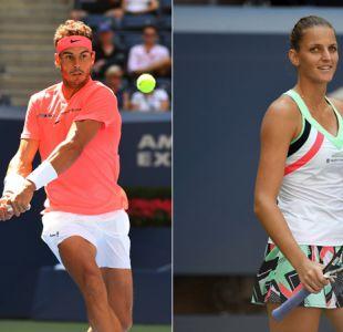 Números 1 siguen firmes en el US Open: Nadal y Pliskova avanzan a cuartos