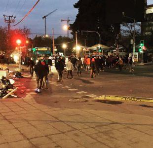 Se registran barricadas en puente Pío Nono