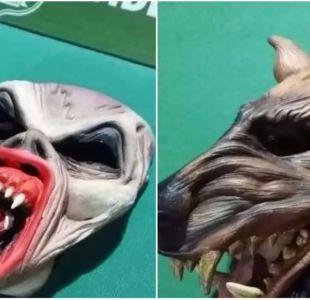 Detienen a integrantes de banda Halloween: realizaban robos con máscaras de drácula y hombre lobo