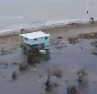 Huracán Katia provoca intensas lluvias en la mayor parte de México