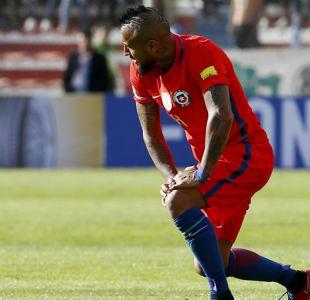 Arturo Vidal se suma a las preocupaciones en La Roja por ligera fatiga muscular