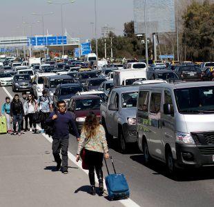 Taxistas quedan en libertad luego de ser formalizados por bloqueo del aeropuerto