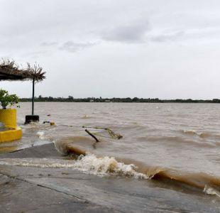Huracán Katia pierde fuerza y se debilita a categoría 1