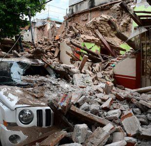 Katia deja daños materiales en su paso por México y desciende de categoría
