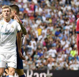 Real Madrid falla en su objetivo de ser líder al lograr opaco empate ante Levante