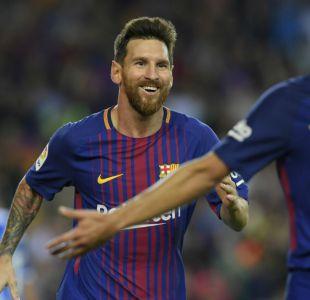 Barcelona golea al Espanyol en derbi catalán con triplete de Lionel Messi