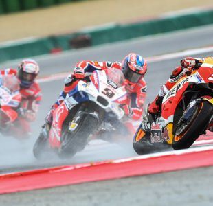 Marc Márquez de Honda se impone en el Gran Premio de San Marino del MotoGP