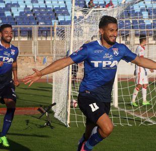 [VIDEO] Goles Primera B fecha 7: San Marcos de Arica celebra ante Valdivia en casa