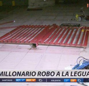[VIDEO] Millonario robo a canal de televisión de La Legua