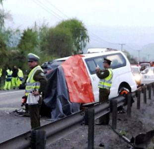 Accidente en Llay Llay