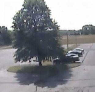 [VIDEO] Avioneta se estrella contra árbol en un estacionamiento de Connecticut, Estados Unidos