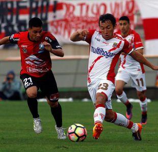[VIDEO] Goles Copa Chile: Curicó Unido iguala con Antofagasta en La Granja