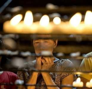 Iglesias filipinas protestan contra la guerra a las drogas