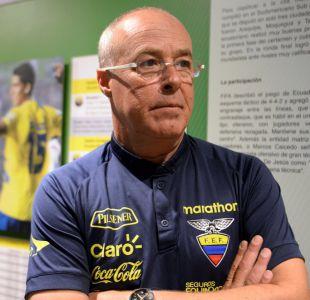 Nuevo técnico de Ecuador envía mensaje a Chile y apuesta por el recambio