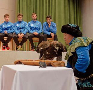 [VIDEO] Águila protagoniza fallido sorteo para duelo Kazajistán-Argentina en Copa Davis