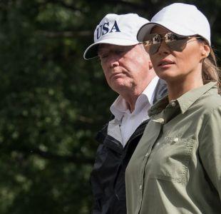 Trump tras visitar zonas afectadas por huracán Irma en Florida: Es un auténtico desastre