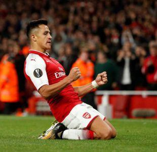 [VIDEO] Alexis Sánchez se matricula con golazo en duelo Arsenal-Colonia por Europa League
