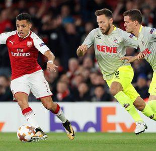 [FOTOS] Las imágenes de Alexis Sánchez en triunfo del Arsenal por la Europa League
