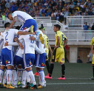 """Herrera tapa penal en la agonía y la """"U"""" logra triunfo ante San Luis por Copa Chile"""