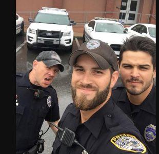Es conocido como uno de los policías más guapos de Florida y ahora su pasado lo condena