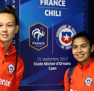 [FOTOS] Selección chilena de fútbol femenino se alista para su amistoso ante Francia