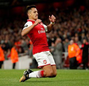 Elogios a Alexis en Inglaterra: Tildan memorable su gol y apuntan se le perdona todo