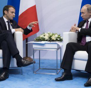 Putin y Macron piden negociaciones directas para bajar tensión con Corea del Norte