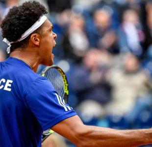 Tsonga permite a Francia empatar serie ante Serbia en semifinal de Copa Davis