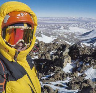 Juan Pablo Mohr logra inédita ascensión invernal chilena del cuarto volcán más alto del mundo