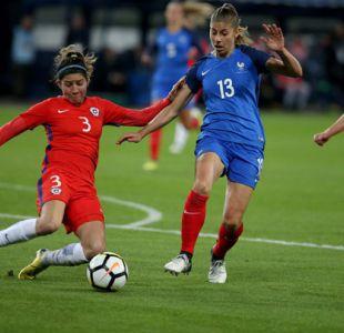 """""""La Roja"""" femenina cae en amistoso frente a Francia en Caen"""