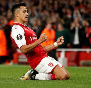[VIDEO] Todavía no sonríe: el silencioso grito de gol de Alexis Sánchez