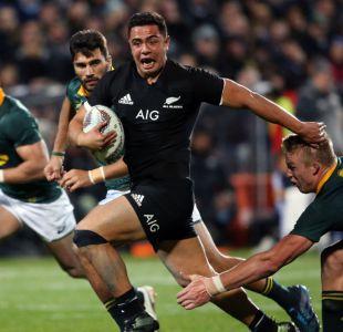 All Blacks consiguen histórica victoria frente a Springboks en el Rugby Championship