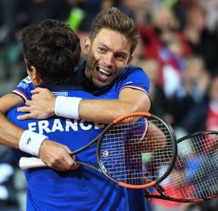 Francia y Australia ganan dobles y se acercan a la final de la Copa Davis