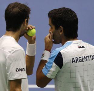 Argentina queda al borde del descenso tras perder el dobles de Copa Davis ante Kazajistán