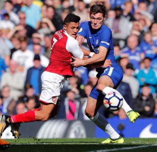 Alexis entra desde la banca en empate entre Chelsea y Arsenal FC por la Premier League